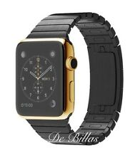 24K Gold Plated 42MM Apple Watch SERIES 2 with Space Black Link Warranty