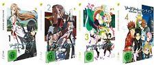 Sword Art Online - Staffel 1 - Vol.1-4 - Episoden 1-25 - DVD - NEU