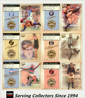 2004 Select AFL Conquest Series Club Team Of The Century Captains Full Set (12)