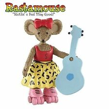 NEW RASTAMOUSE FIGURE & ACCESSORY PACK - Scratchy with Guitar