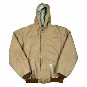 NWOT Carhartt Men's Flame Resistant Duck Active Jacket Brown Size XL Tall 101621