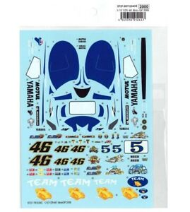 Studio27 SDT1234C 1:12 YZR-M1 2006 - Spare Decal for TK1234CR