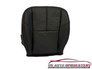 2008 GMC Sierra 3500HD Diesel Driver Bottom Leather Seat Cover Black pattern