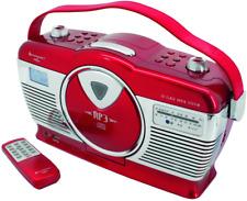 Soundmaster RCD1350RO Rot, Radio Radiorecorder CD UKW USB/SD Retro Design