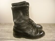 Vintage WWII WW2 Swedish Soldiers Combat Trench Hiking Leather Boots Mens Size 9