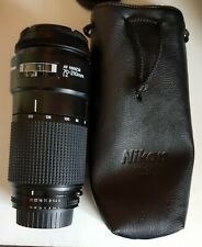Nikon AF Nikkor 70-210 mm f4
