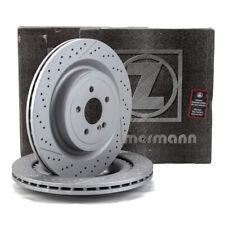 ZIMMERMANN Bremsscheiben Satz für MERCEDES AMG GT W205 R231 63AMG 65AMG hinten