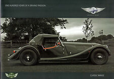 Morgan 4/4 Plus 4 Roadster 2009 UK Market Sales Brochure