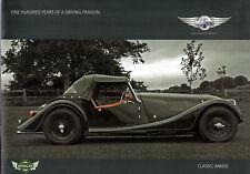 Morgan Classic 2009 UK Market Sales Brochure 4/4 Plus 4 Roadster