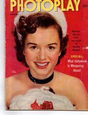 Debbie Reynolds Burt Lancaster Tab Hunter Marilyn Monroe Photoplay Jan 1953