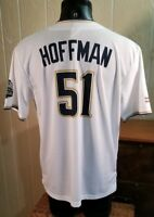 MLB SD Padres Trevor Hoffman #51 Hall Of Fame Giveaway Adult SGA Jersey M *Size