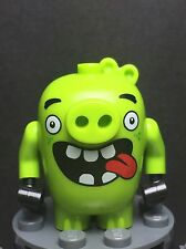 New Lego Angry Birds Movie Piggy 1 Minifigure w/ Tongue Sticking Out from 75821