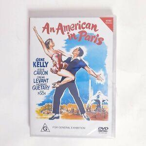 An american in Paris Movie DVD Region 4 AUS Free Postage - Drama Romance