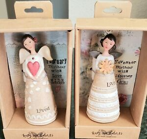 Kelly Rae Roberts Birthday Wish Angels Lot statue decor gift