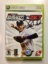 """Derek Jeter-Authentic Hand Signed Autographed Video Game """"Only One On Ebay"""""""