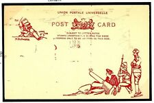 W341 1900ABW Pictorial 'Long Tom' Illustrated UPU Card/Unused
