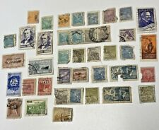 Old South American Stamps (Lot of 40) Brazil, Peru, Venezuela, & also Philippine