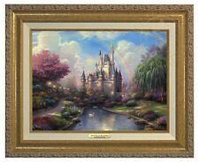 Thomas Kinkade - Disney World - Canvas Classic (Gold Frame)