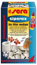 Sera Siporax Bio Filtro medio 1000ml/290g + Filter Biostart 50ml
