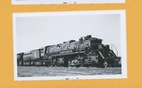 Great Northern GN 2-8-8-2 Steam Locomotive #2001 - B&W Railroad Photo
