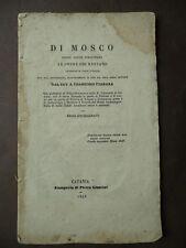 Storia Locale Siracusa Mosco Poeta Greco Siracusano 1843 Versi Vita Letteratura