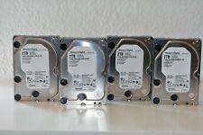 """4x 2TB Western DIGITAL Ultrastar DC HA210=WD2004FBYZ=WD GOLD 3,5"""" HDD Festplatte"""