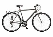 "Viking Hampstead Mens 700c Wheel Urban Hybrid Bike 21 Speed Grey 19"" Frame Grey"