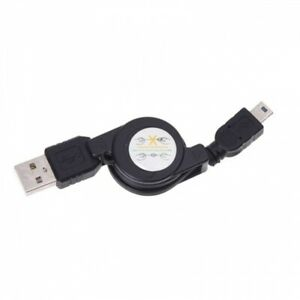 Retractable Mini USB Cable Charge Sync Power Wire Data Transfer Cord for Phones