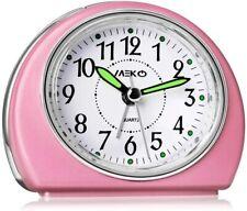 Meko Alarm Clocks Non-Ticking for Bedrooms, Smart Tickless Travel Snooze Night
