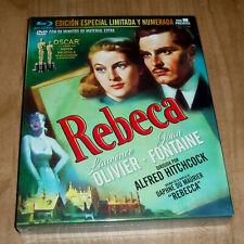 REBECA EDICION LIMITADA NUMERADA BLU-RAY+DVD+8 POSTALES NUEVO (SIN ABRIR) A-B-C