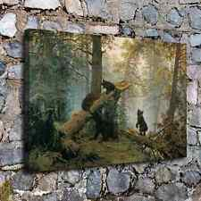 """16""""x24"""" Bear forest Picture HD Canvas prints Painting Home Decor Wall art Poster"""