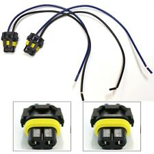 Extension Wire Pigtail Female 9006 HB4 Two Harness Fog Light Connector Socket OE
