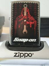 LIMITED EDITION SNAPON GRIM REAPER ZIPPO BRAND NEW IN GIFT/PRESENTATION BOX.