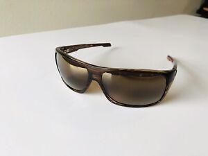 Maui Jim MJ-237-15 Island Time Polarized Sunglasses64x17-125 Striped Rootbeer