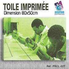 80x50cm - TOILE IMPRIMÉE TABLEAU POSTER - PETE ROCK CL SMOOTH - PRCL-02