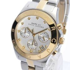 MBM3177 Pawnable OEM Marc Jacobs Chronograph Silver/Gold Watch