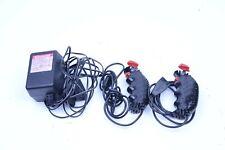 2 Carrera Slot Car Remotes and Power Supply Model 34825-5130G