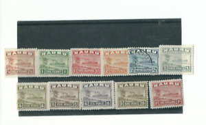 nauru stamps 17-27