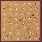 "Внешний вид - Japanese Furoshiki Wrapping Cloth Scarf Tapestry 19.75"" Sq Cotton Sumo 48 Moves"
