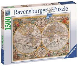 Ravensburger - 1500pc Historical Map Jigsaw Puzzle 16381-6