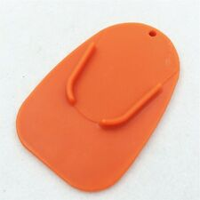 New listing Orange kickstand plate pad For Universal Honda Suzuki Kawasaki Yamaha Ducati