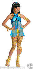Monster High CLEO DeNile costume girls Small 4-6 NIP Mummy dress up play