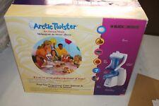 BLACK & Decker Arctic Twister Gelato Mixer MACCHINA Cremino