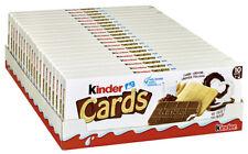 Kinder Cards Großhandelskarton, 20er Pack (20 x 128 g Packung) - FRISCHE WARE