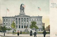 BROOKLYN NY – Borough Hall Tuck Postcard – udb (pre 1908)