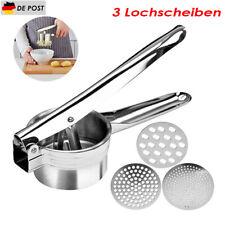 Kartoffelpresse Spätzlepresse Nudelpresse Spaghettieis Presse Edelstahl