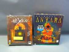 Lot 2 CD-ROM Games Hexen (1995 / id) Betrayal In Antara (1996 / Sierra) - NIB