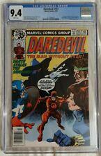 DAREDEVIL #157 CGC 9.4 WHITE PAGES MATT MURDOCK KINGPIN PUNISHER (1979 Marvel)