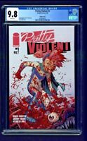 Pretty Violent #1 CGC 9.8 Ryan Ottley Variant Cover Edition Image Comics