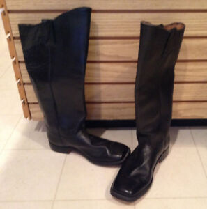 Mens Leather Boots ( Civil War Reenactmennts or Bikers or everyday wear)